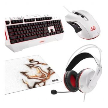 Asus Cerberus Gaming Bundle - Keyboard, Headset, Mouse & Mouse Pad